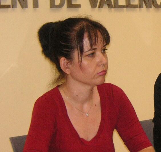 La concejala de Esquerra Unida, Rosa Albert/eu