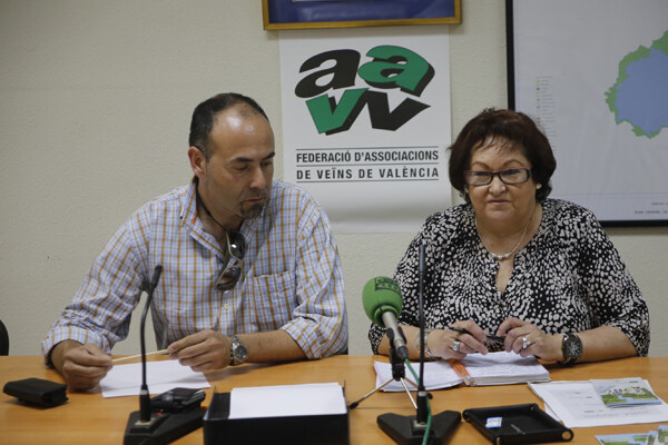 El vicepresidente de la federación, Toni Pla, y la presidenta de la entidad; María José Broseta/Manuel Molines