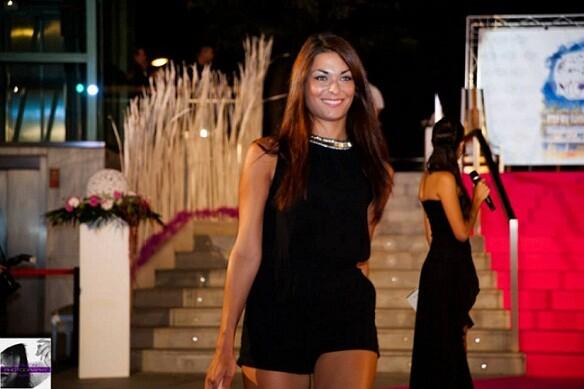 Cristina Martínez ejerció de jurado en la primera fase del acto de Miss Valencia 2013/miss valencia