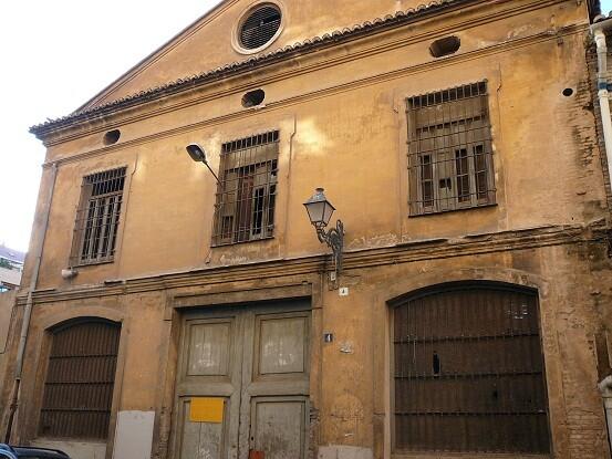 Edificio protegido privado previsto para uso público en el PGOU donde se ha intervenido/gms