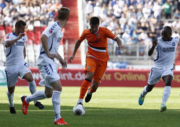 Karlsruhe SC - Valencia CF, 2-1