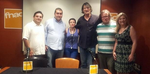 Manuel Furió, Óscar Martín, Laura Madrona, Jimmy Entraigües, José Antonio Garzón y Mamen Peris.
