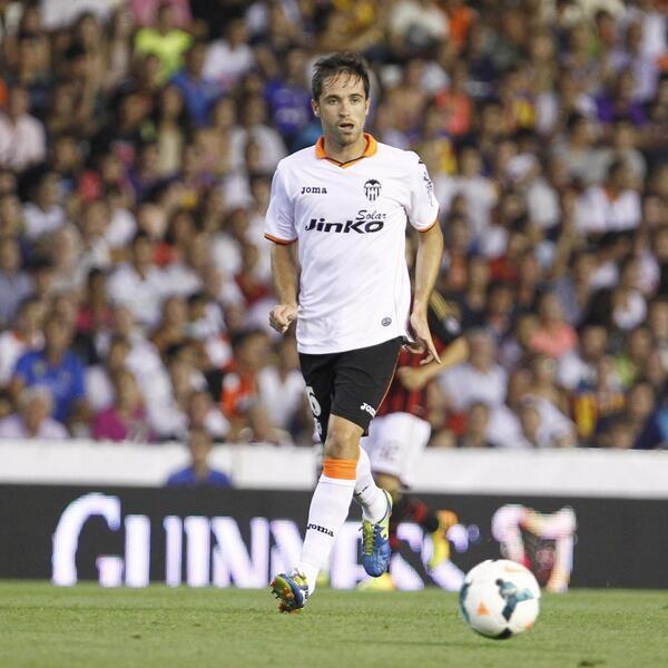 Míchel volvía a casa. Momentazo. Foto:  Valencia CF