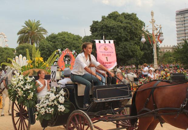 Premio Coche Ligero, carroza nº 32 de Miguel Galán. Foto: Javier Furió
