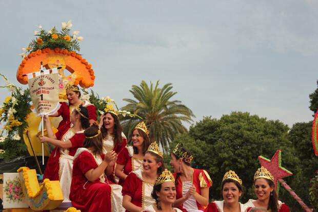 Primer Premio de la Categoría Ordinaria A. Realeza de Carrozas Cortes. Foto: Javier Furió