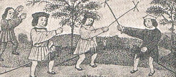 Juegos de batalla medievales. A. P. R. S.