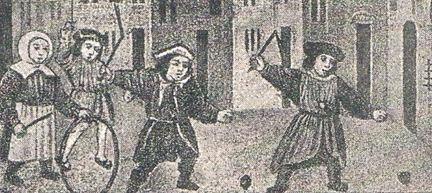Juegos de calle medievales. A.P.R.S.