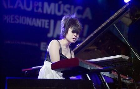 La pianista Hiromi