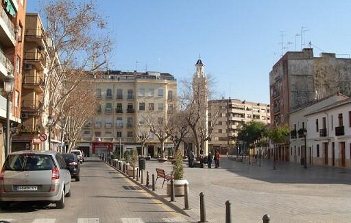 Las obras se harán en la zona sur de la plaza de Patraix