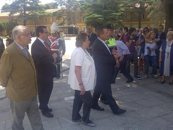 Cotino, Bellver, Barberá, Dominguez y el jefe de la Policía Local/vlcciudad