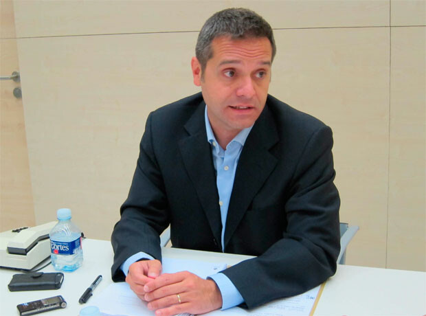 Amadeu Sanchis, portavoz de EU en el ayuntamiento de Valencia