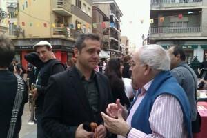 Amadeu Sanchis en el barrio de Benimaclet/eu