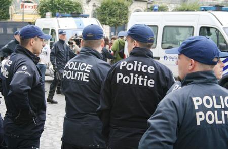 Efectivos de la Policía Bulgara