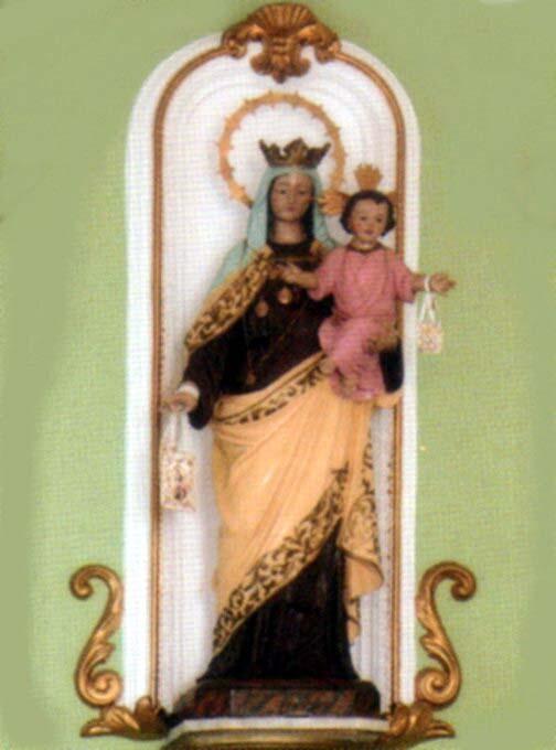 Imagen de la Virgen del Carmen de El Perellonet/fiestasvalencianas