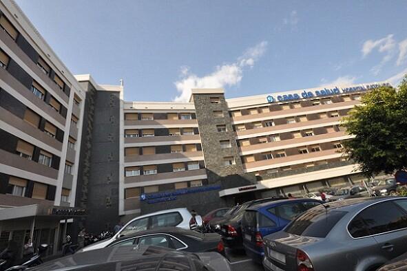 Fachada del Hospital Casa de la Salud
