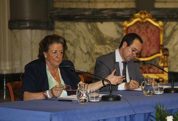La alcaldesa lamentó que Zapatero vetara la entrada de Valencia en Casa Asia/ayto vlc