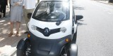 El vehículo eléctrico en el que viajan los inspectores de la smart citie/ayto vlc