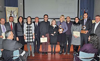 Los galardonados en una edición pasada de los premios Concilia-Te/ayto vlc