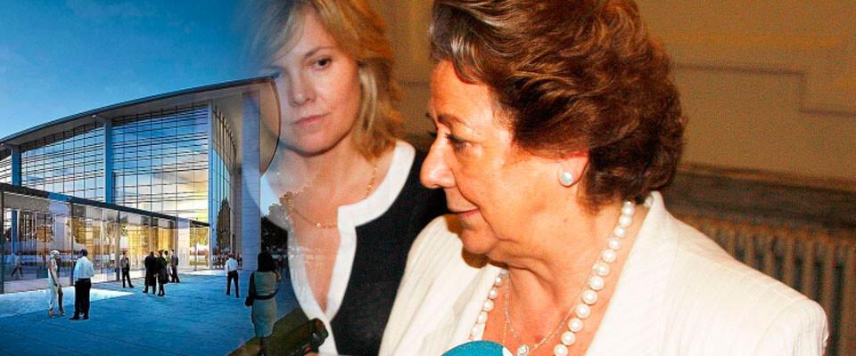 RIta Barberá niega que el Palacio de Congresos esté en pérdidas. Fotomontaje: Javier Furió