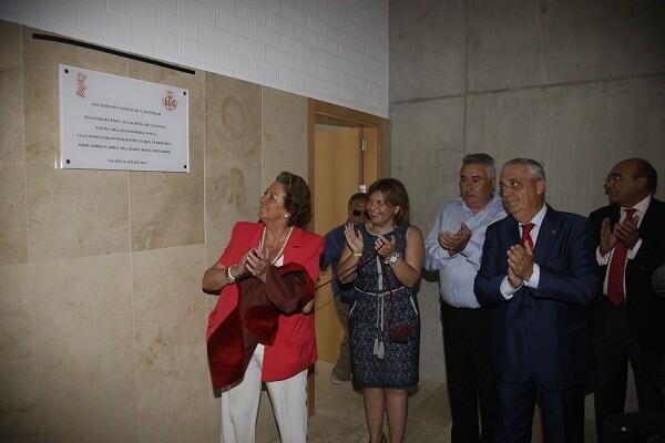 La alcaldesa, la consellera, el pedáneo y ex seleccionador de Ciclismo y el edil de Pedanías/ayto vlc