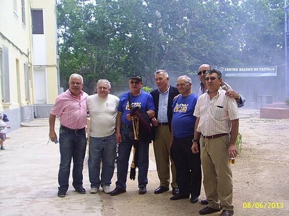 Los presidentes de los centros gallegos reunidos en Castellón/cgv