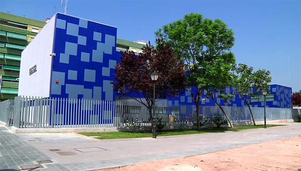 Panorámica general de la sede de la 5ª Unidad de la Policía Local de Valencia