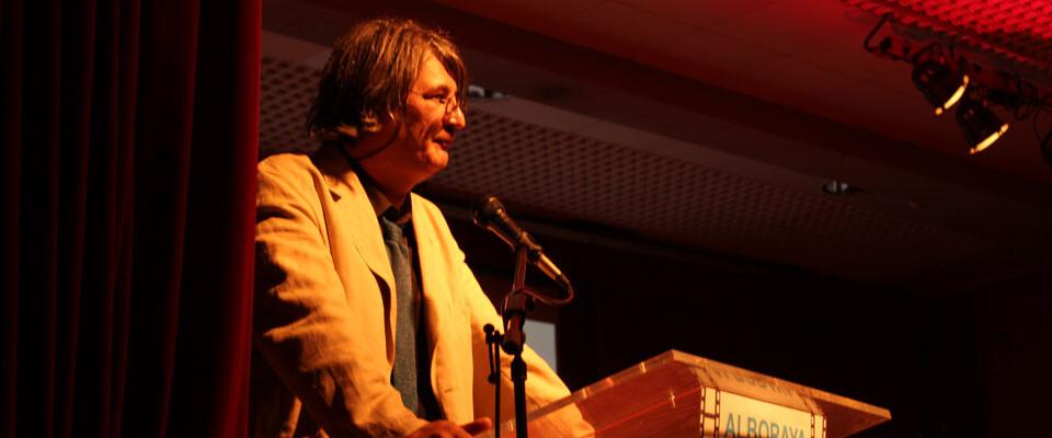 Jimmy Entraigües durante la celebración del festival Alboraya en Curt, que ha dirigido con gran éxito. Foto: Javier Furió