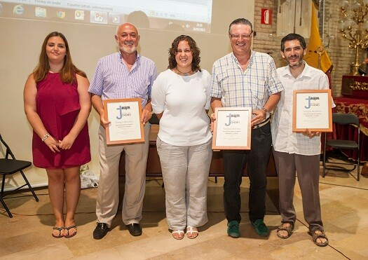 De izquieda a derecha, Guillamon, Carles, Mendoza, Mi...y Panach/servincof