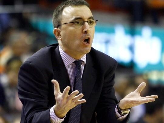 Mulero, entrenador asistente del Valencia Basket.