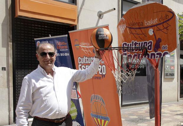 Paco Raga, vicepresidente del Valencia Basket