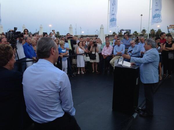 El presidente provincial del PP, Alfonso Rus, también acudió a la cita/ppvlc