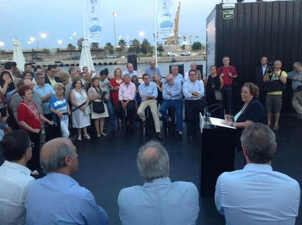 La alcaldesa y lider nata del PP en la ciudad se dirige a dirigentes y militantes/ppvlc