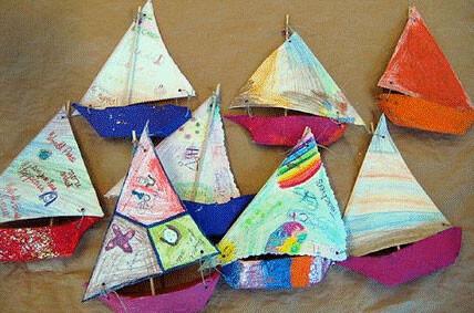 Taller de veleros en el Centro Comercial El Saler