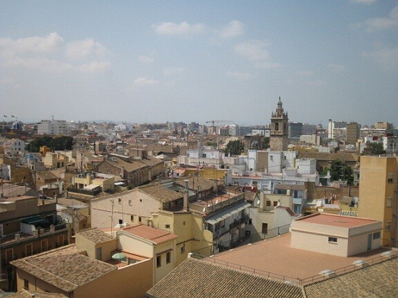 Vista aérea de Ciutat Vella