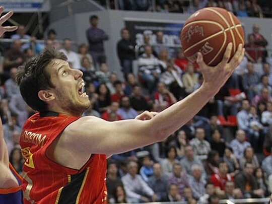 Van Rossom, en un partido con el CAI Zaragoza. Foto: ACB Photo