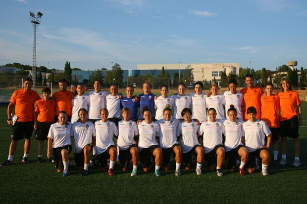 Valencia Club de Fútbol Femenino, plantilla 2013-2014