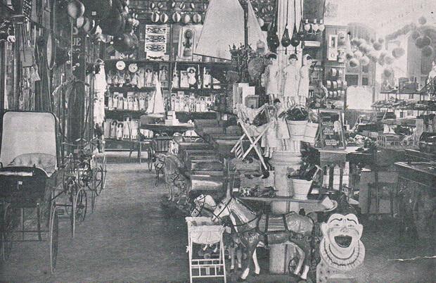 Bazar Giner. Foto: A. P. R. S.