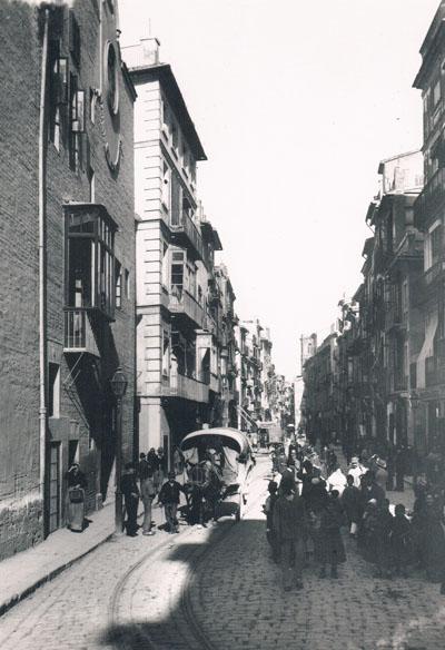 Convento San Gregorio, calle de San Vicente. Ca. 1890. Foto: A.P.R.S.