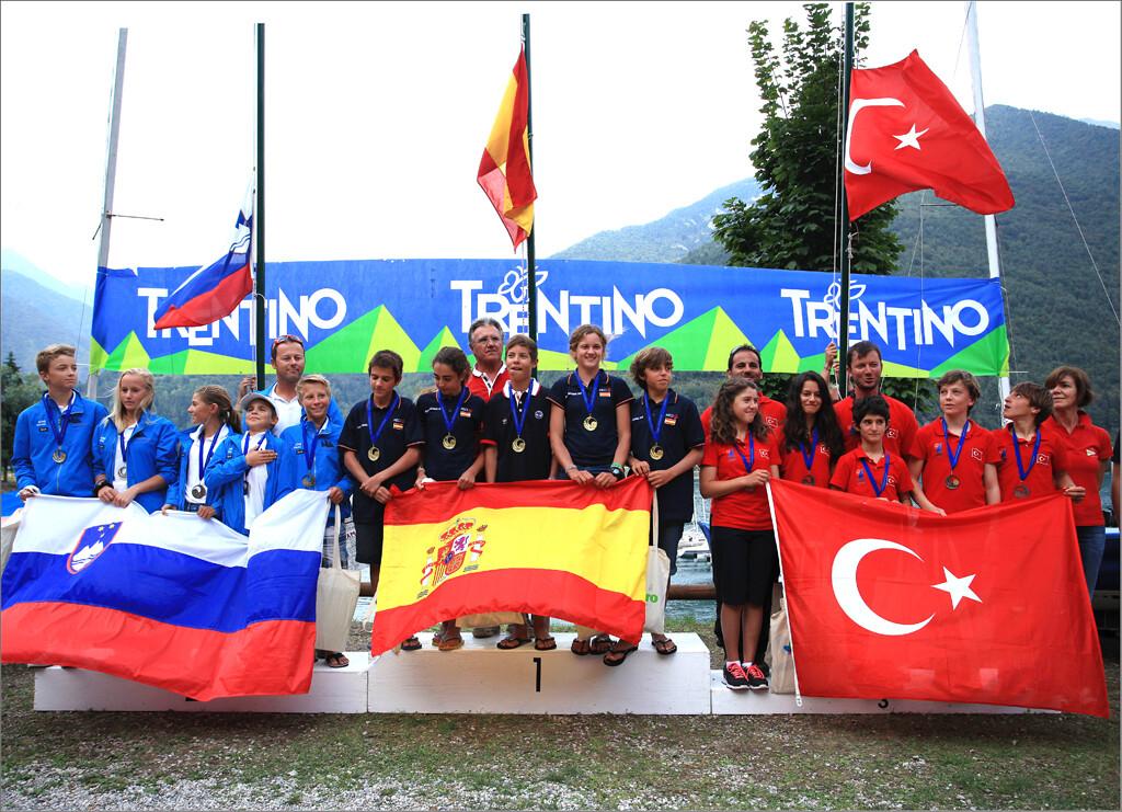 Podio Europeo Team Racing 2013 1
