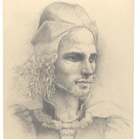 Retrato de Corella grabado de Manuel Boix 2004
