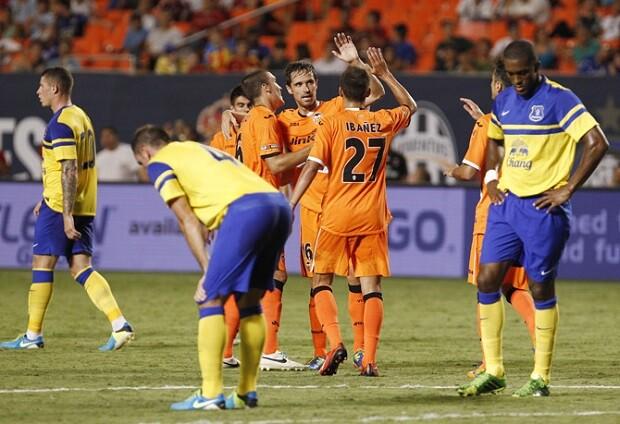 Valencia CF. Everton 1