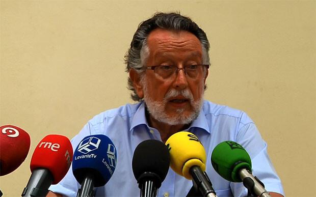 Alfonso Grau da cuentas de la evolución del turismo en la ciudad de Valencia como alcalde en funciones. Foto: Ayto. Valencia