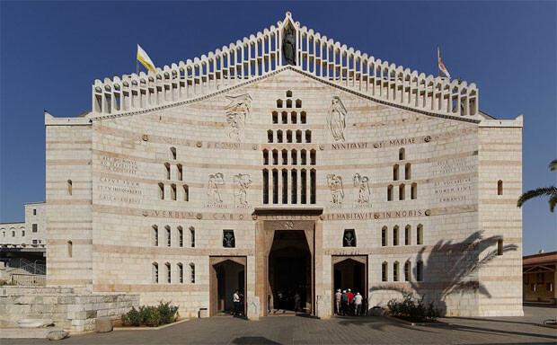 Basílica de la Anunciación, en Nazaret