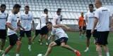 El Valencia se entrena en Mestalla de cara al partido de mañana contra en RCD Espanyol. Foto: Valencia CF