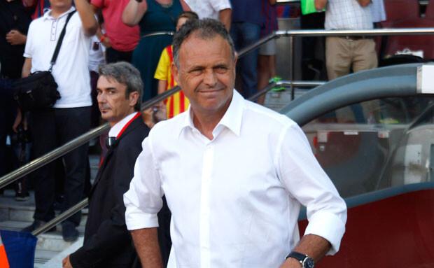 Joaquín Caparrós, técnico del Levante UD
