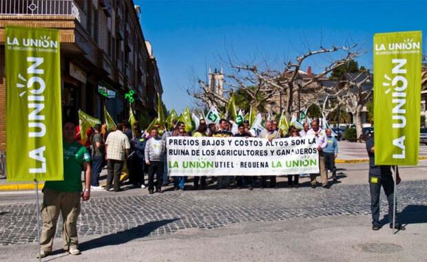 Acto reivindicativo de La Unió en Requena. Foto de archivo.