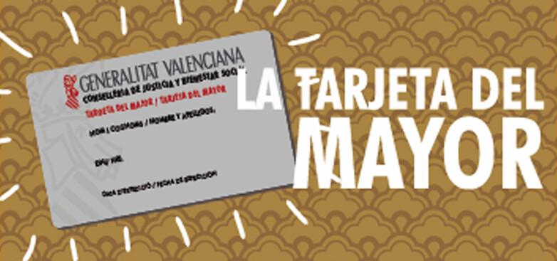 tarjeta mayor