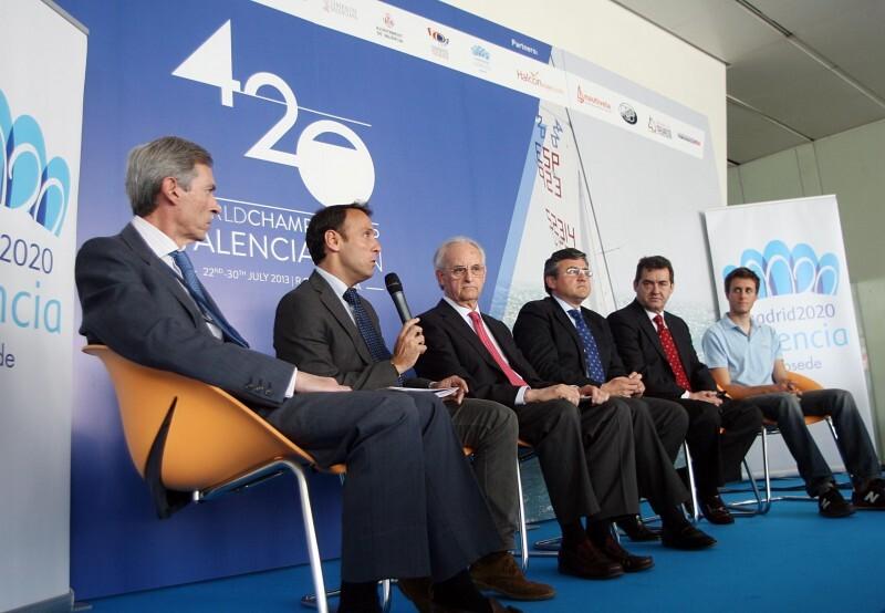 Presentación del Mundial 420, en el RCN Náutico de Valencia