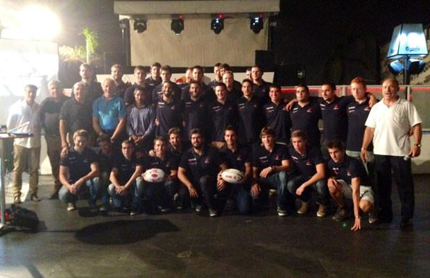 Equipo del Tecnidex Valencia Rugby Club 2013-2014