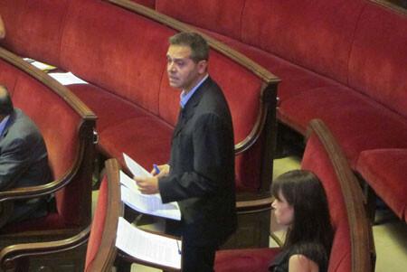 Amadeu Sanchis defiende su postura ante el Plan de La Fe. Foto: EUPV